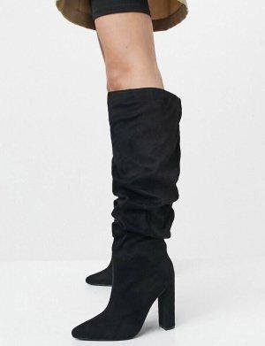 Asos Laarzen met hak zwart