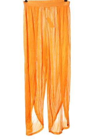 Asos Spodnie materiałowe jasny pomarańczowy W stylu casual