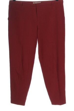 Asos Stoffen broek rood zakelijke stijl