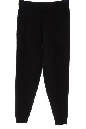 Asos Pantalón tipo suéter negro look casual