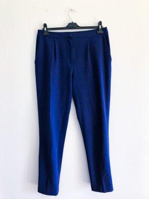 Asos Stoffhose, gerade geschnitten, marineblau, Gr. 40 / L