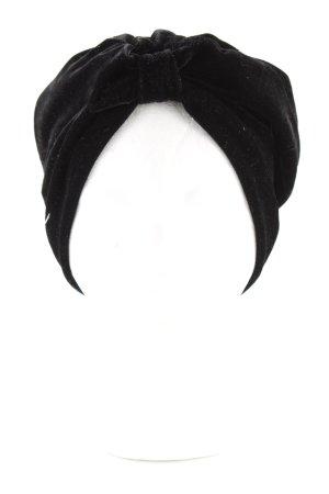 Asos Chapeau en tissu noir style extravagant