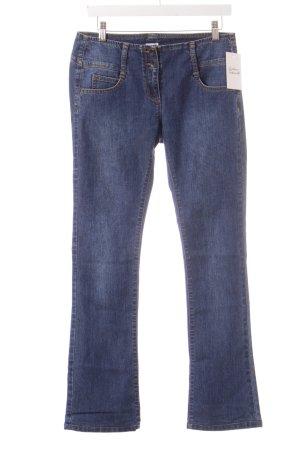 Asos Jeans met rechte pijpen blauw