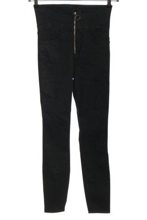 Asos Jeans stretch noir style décontracté