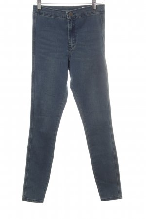 Asos Stretch Jeans graublau Casual-Look