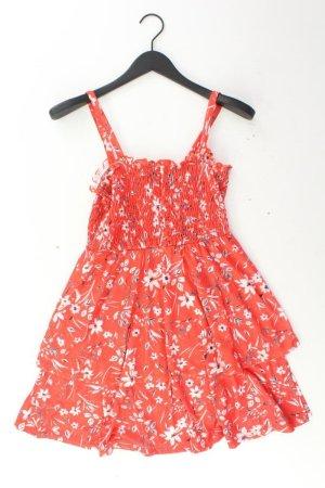 Asos Stretchkleid Größe M mit Blumenmuster Träger rot aus Polyester