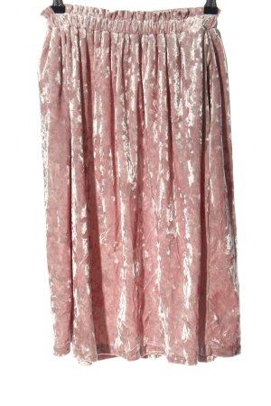 Asos Spódnica ze stretchu różowy Elegancki