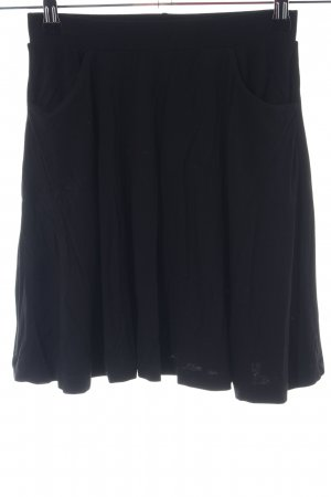 Asos Spódnica ze stretchu czarny W stylu casual