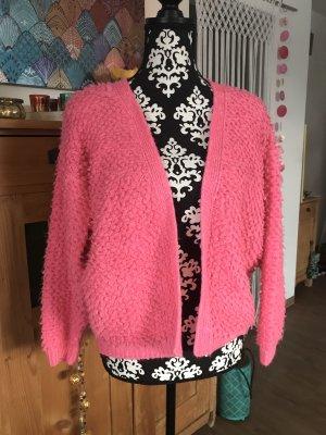 Asos Veste en tricot magenta-rouge framboise