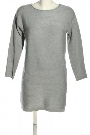 Asos Knitted Dress light grey flecked casual look