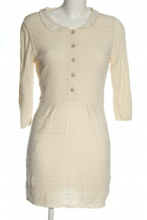Asos Knitted Dress cream casual look