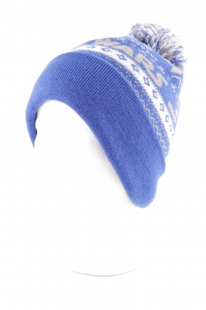 Asos Knitted Hat graphic pattern casual look