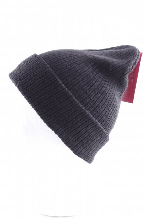 Asos Knitted Hat black casual look