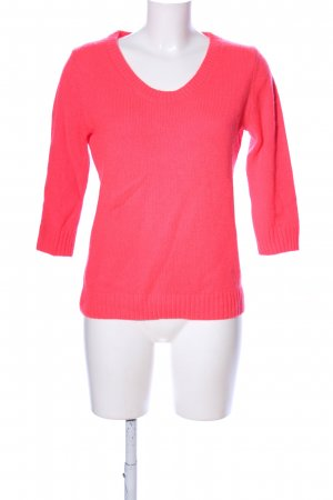 Asos Strickpullover rot Casual-Look