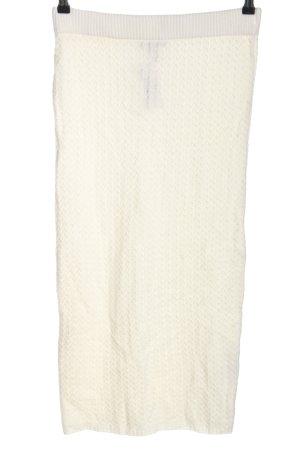 Asos Jupe tricotée blanc cassé