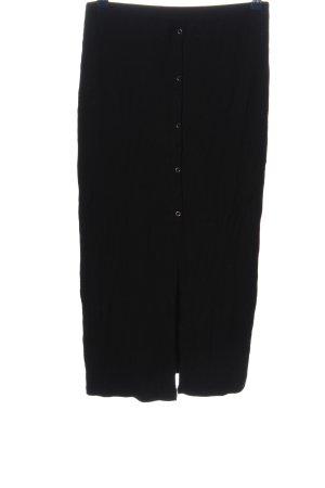 Asos Gebreide rok zwart zakelijke stijl