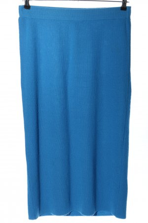 Asos Strickrock blau Casual-Look