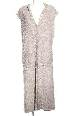 Asos Smanicato lavorato a maglia grigio chiaro stile casual