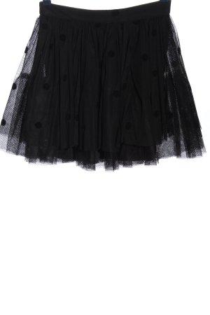 Asos Jupe superposée noir motif de tache style festif