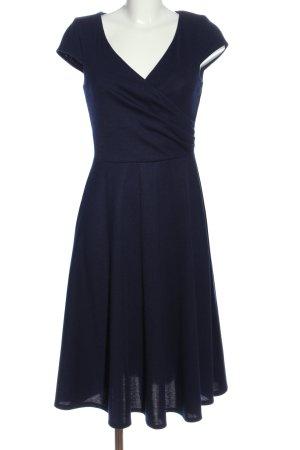 Asos Vestido de tela de sudadera azul look casual
