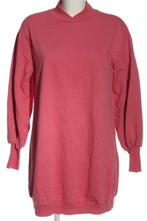 Asos Sweatkleid pink Casual-Look
