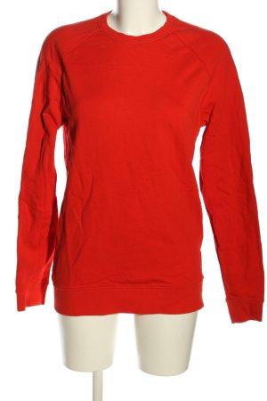 Asos Sweatshirt rot schlichter Stil