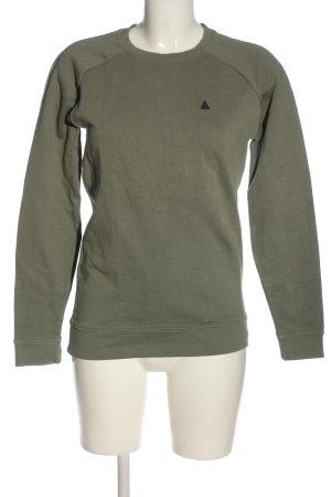 Asos Sweatshirt khaki Motivdruck Casual-Look
