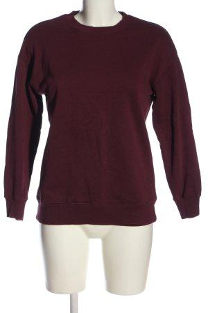 Asos Sweatshirt rot Casual-Look