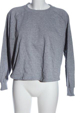 Asos Sweatshirt hellgrau Casual-Look