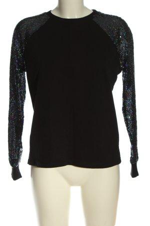 Asos Sweatshirt schwarz Casual-Look