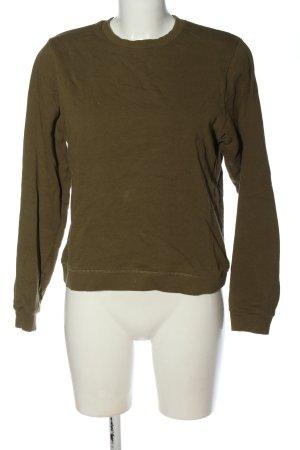 Asos Sweatshirt braun Casual-Look