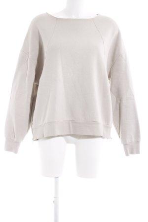 Asos Sweatshirt hellbeige sportlicher Stil