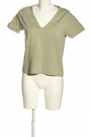 Asos T-Shirt khaki meliert Casual-Look