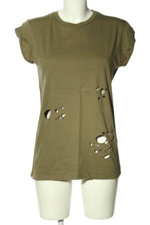 Asos T-Shirt khaki Casual-Look
