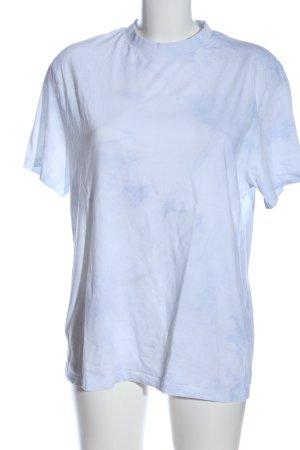 Asos T-Shirt weiß meliert Casual-Look