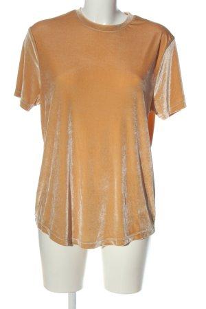 Asos T-Shirt hellorange Casual-Look