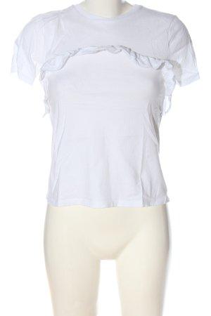 Asos T-shirt biały W stylu casual