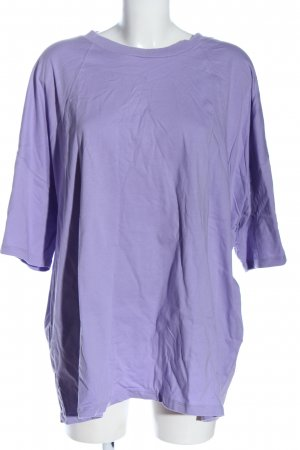 Asos T-Shirt lila Casual-Look