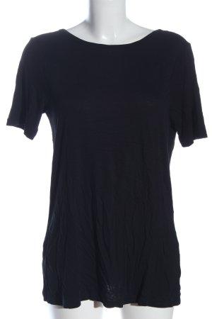 Asos T-Shirt schwarz Casual-Look