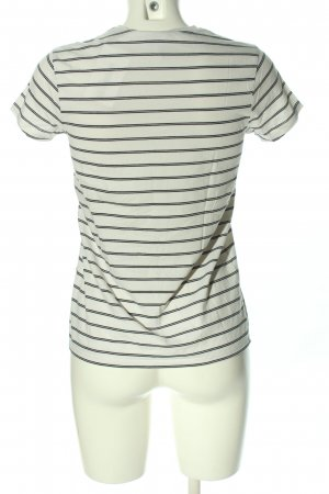 Asos T-Shirt weiß-schwarz Allover-Druck Casual-Look