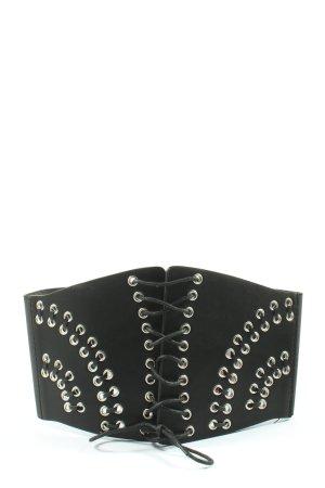 Asos Cinturón pélvico negro look casual