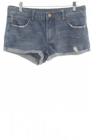 Asos Tall Denim Shorts slate-gray casual look