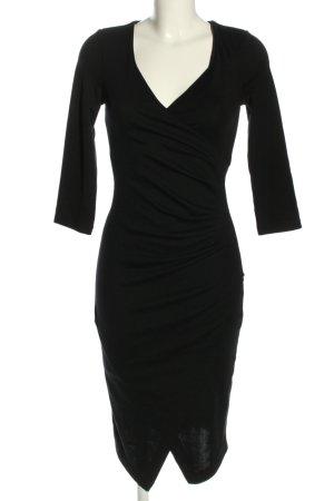 Asos Tall Midi-jurk zwart zakelijke stijl