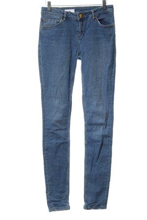 Asos Tall Slim jeans korenblauw casual uitstraling