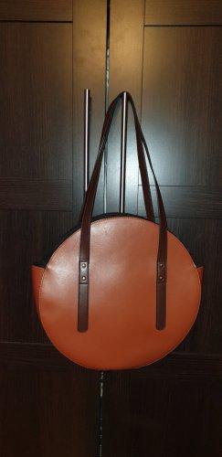 Asos Handbag black-cognac-coloured