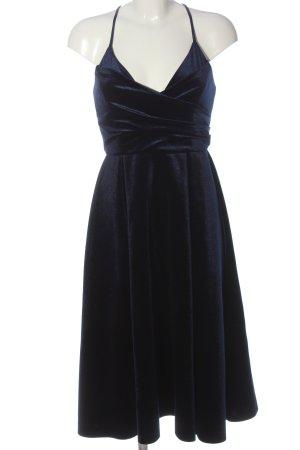Asos Pinafore dress blue elegant