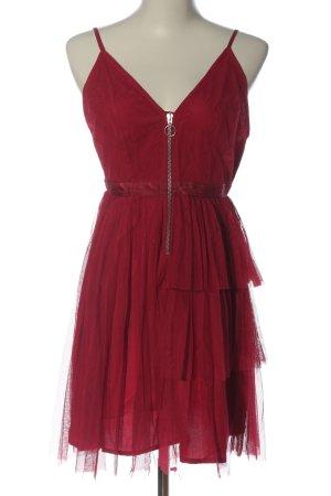 Asos Trägerkleid rot Elegant