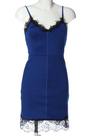 Asos Trägerkleid blau-schwarz Elegant