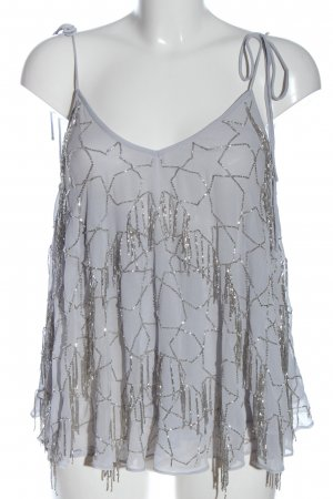 Asos Trägertop hellgrau-silberfarben Elegant