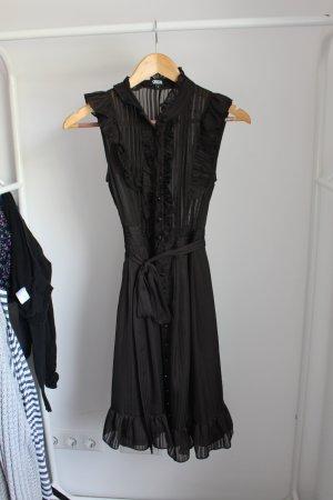 ASOS Transparentes Kleid S | Jetzt zuschlagen | Ruffle Kleines Schwarzes wie NEU